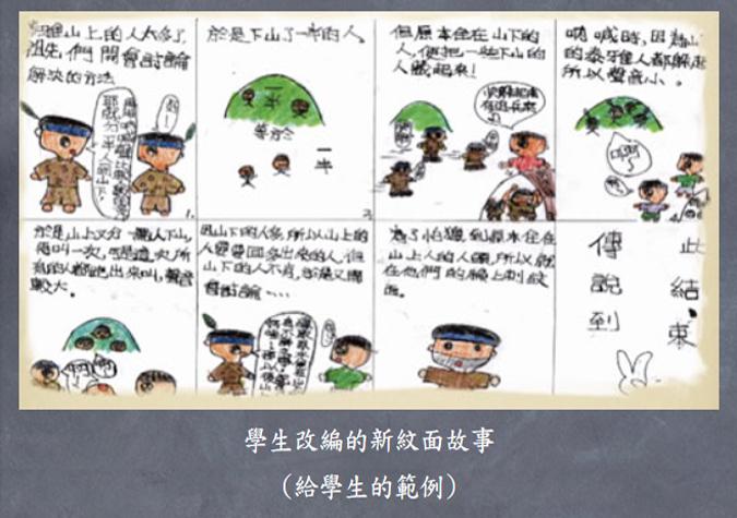 光榮的烙印泰雅紋面歷史文化教材